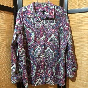 TALBOTS  women's blouse 🌼🌺🌸
